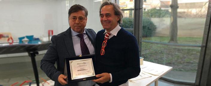 Premiazione Ecogenia Azienda Green Lissone
