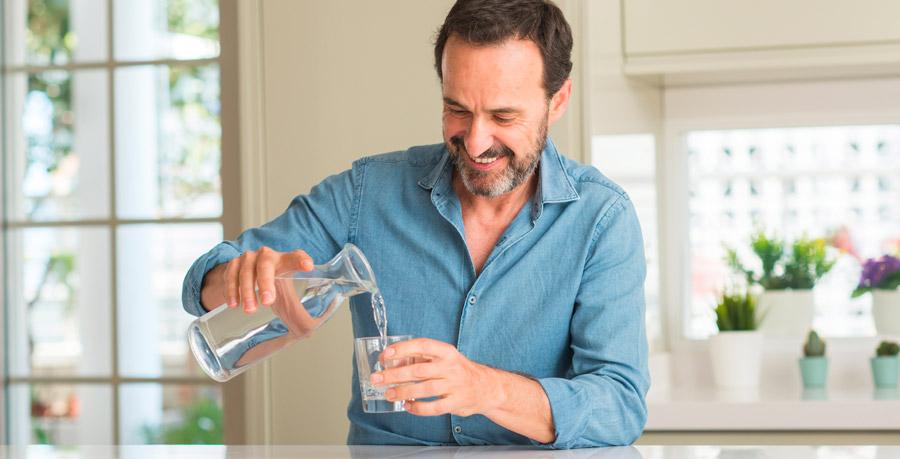 bere acqua buona alla fiera campionaria di padova
