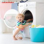 lavare in lavatrice con acqua ozonizzata