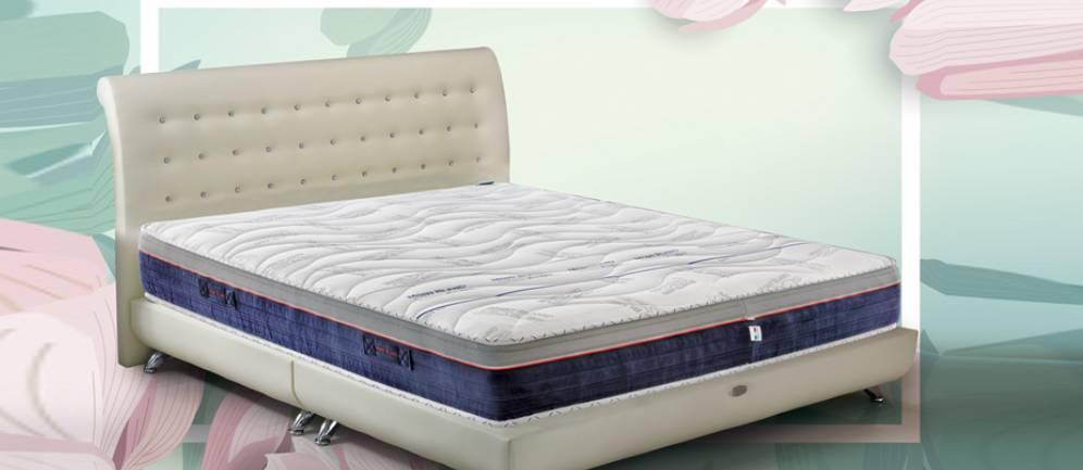Il materasso ergonomico della lInea Riposo Montblanc