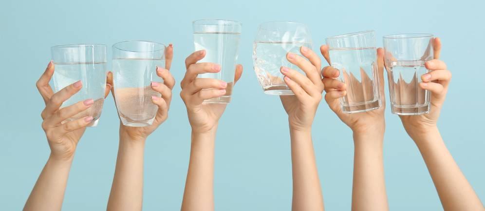 non attendere la sete per idratarsi