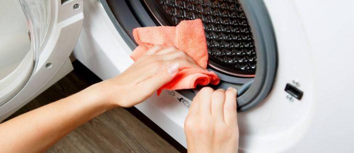 la pulizia della lavatrice
